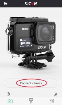 カメラ接続画面