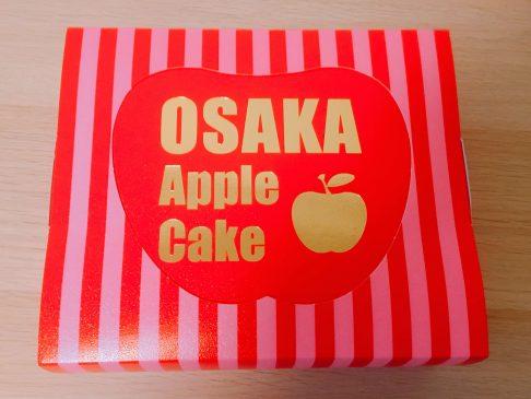 大阪アップルケーキの箱