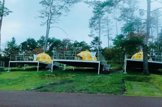 ドームテントキャンプ